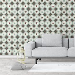 papel-de-parede-abstrato-geometrico-estrela-verde-claro1