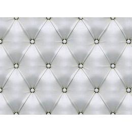 papel-de-parede-capitone-couro-branco