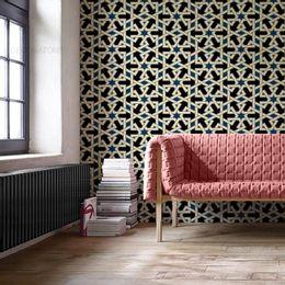 papel-de-parede-abstrato-moderno-azul-royal1