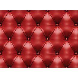 papel-de-parede-capitone-couro-vermelho