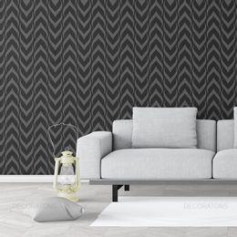 papel-de-parede-abstrato-escama-preto1