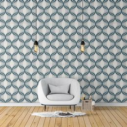 papel-de-parede-abstrato-riscado-azul-royal1