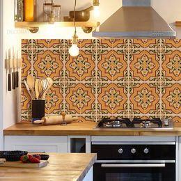 papel-de-parede-azulejo-portugues-verde-musgo-e-mostarda1