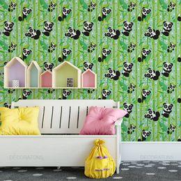 papel-de-parede-ursinho-panda-verde-claro1