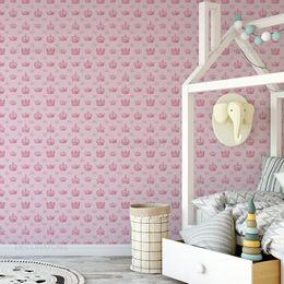 papel-de-parede-coroa-real-rosa-claro1