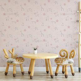 papel-de-parede-silhueta-animais-rosa-claro1