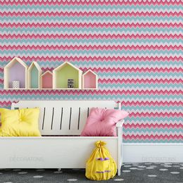 papel-de-parede-chevron-rosa-e-azul-rosa1