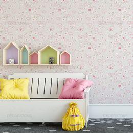 papel-de-parede-ovelhinhas-flores-rosa-claro1