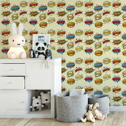 papel-de-parede-onomatopeia-efeitos-visuais-amarelo-claro1