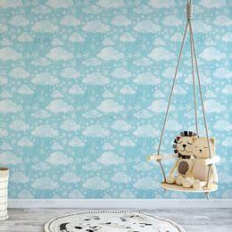 papel-de-parede-flocos-de-neves-e-nuvens-azul-claro1