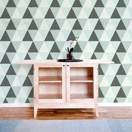 papel-de-parede-geometrico-triangulo-verde-claro1