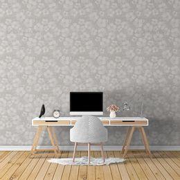 papel-de-parede-floral-vintage-cinza1