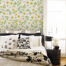 papel-de-parede-flores-pequenas-amarelo1