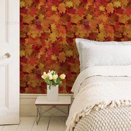 papel-de-parede-folhas-de-outono-laranja1
