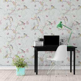 papel-de-parede-flores-e-passaros-cinza1