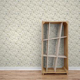 papel-de-parede-flores-em-galhos-e-passaros-palha1