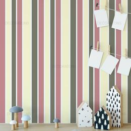 papel-de-parede-listrado-rosa-queimado-e-marrom