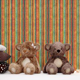 papel-de-parede-listrado-madeira-colorido