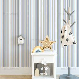 papel-de-parede-listrado-vertical-fino-azul-e-bege