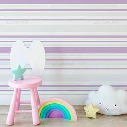 papel-de-parede-listrado-horizontal-em-lilas