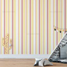 papel-de-parede-listrado-tons-pasteis-amarelo-e-rosa