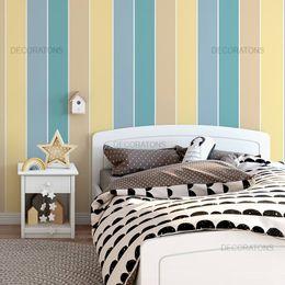 papel-de-parede-listrado-vertical-colorido-amarelo-e-azul