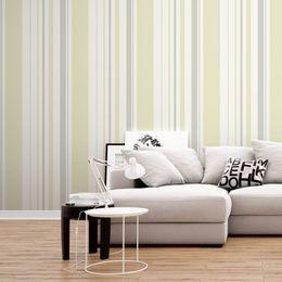 papel-de-parede-listrado-vertical-palha-e-cinza
