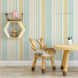 papel-de-parede-listrado-vertical-turquesa-e-amarelo
