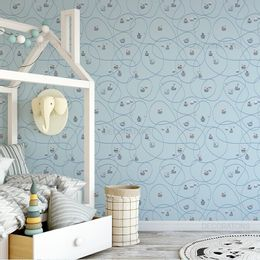 papel-de-parede-barcos-velejando-azul-claro