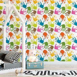 papel-de-parede-maos-coloridas