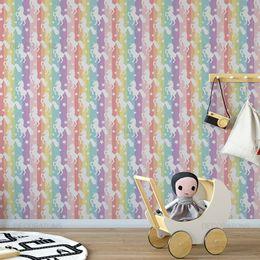 papel-de-parede-unicornio-arco-iris-1