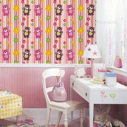 papel-de-parede-urso-e-flores-listrado-rosa-1