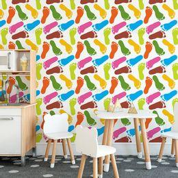 papel-de-parede-pes-coloridos-1