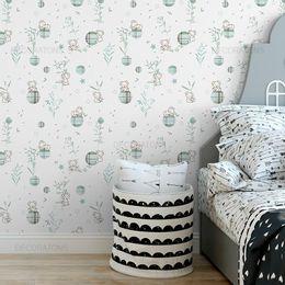 papel-de-parede-coala-sonolento-branco
