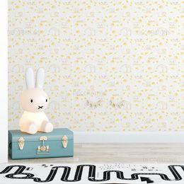 papel-de-parede-animais-e-dente-de-leao-amarelo-1