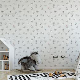 papel-de-parede-cachorro-e-chiclete-branco