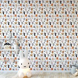 papel-de-parede-gatinhos-diversos-branco