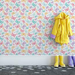 papel-de-parede-lindas-borboletas-colorido-1