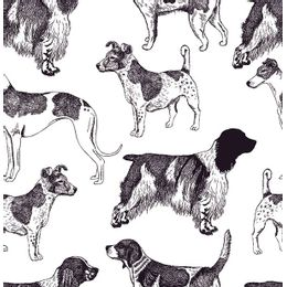 papel-de-parede-diversos-cachorros-branco