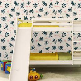 papel-de-parede-silhueta-passaros-azul-marinho