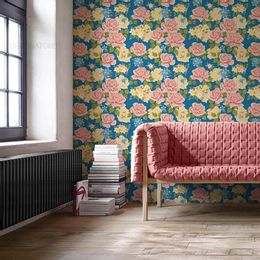 papel-de-parede-jardim-floral-azul-cobalto-1