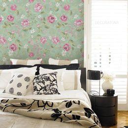 papel-de-parede-rosas-delicadas-tons-pasteis