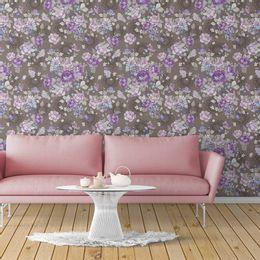 papel-de-parede-rosas-e-flores-marrom-1