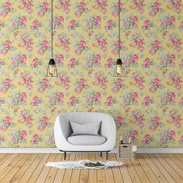 papel-de-parede-poa-ramos-de-rosas-pessego-1