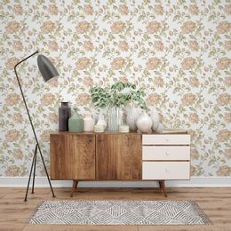 papel-de-parede-floral-vintage-com-rosas-branco