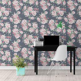 papel-de-parede-poa-ramos-de-rosas-azul-marinho-1