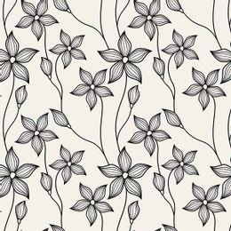 papel-de-parede-floral-delicado-vintage-preto