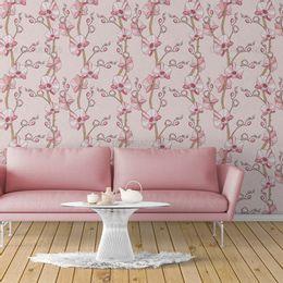 papel-de-parede-orquidea-em-galhos-rosa-claro