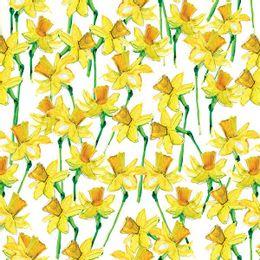 papel-de-parede-floral-amarelo-abstrato