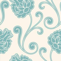 papel-de-parede-arabesco-floral-turquesa